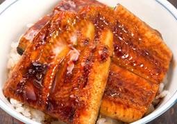 土用丑鰻丼を食べる