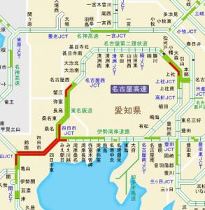 東名阪集中工事