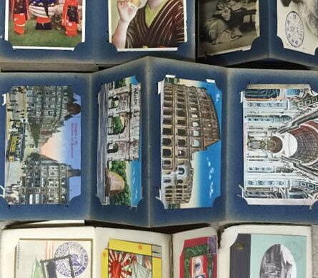 大正頃?の名古屋駅・敦賀湾に浮かぶ水雷艇などの戦前絵葉書買取