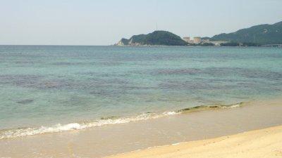 敦賀の水晶浜へ
