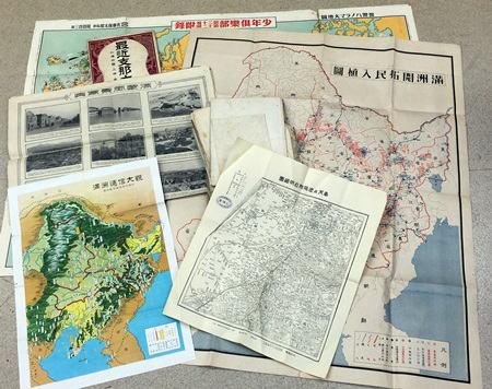 満洲・支那地図
