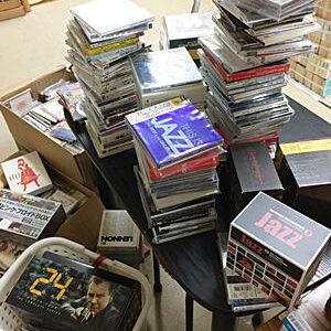JAZZCD・映画DVD出張買取