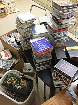 岡崎市でJAZZCD・映画DVDの出張買取