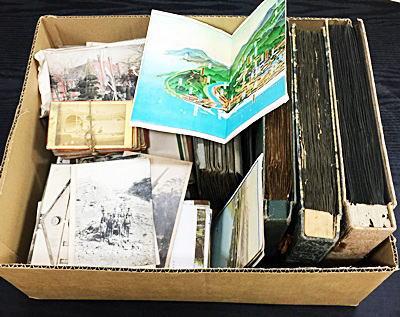 戦前絵葉書・鳥瞰図・明治大正頃の地図刷り物紙類など買取