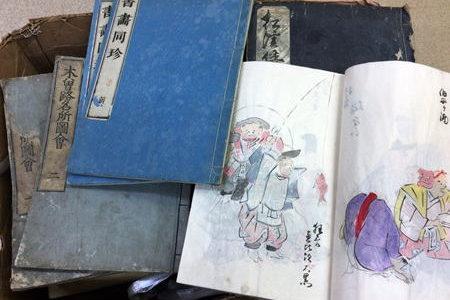 一宮市に和本の出張古本買取でお伺いしました