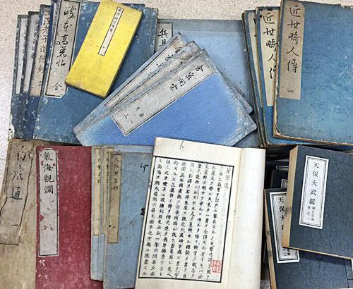 和本・和綴じ本・和装本の古本買取