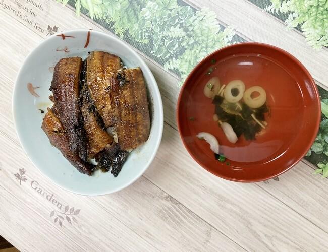 土用の丑鰻今年初食