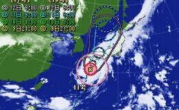 台風 シッシ